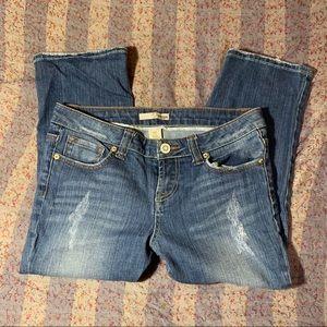 Refuge Juniors Misses Capri Jeans